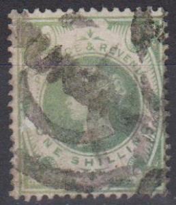 Great Britain #122 F-VF Used CV $60.00 (A9436)