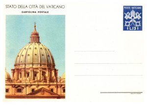 Vatican City, Government Postal Card