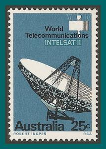 Australia 1968 Intelsat, MNH  #433,SG419