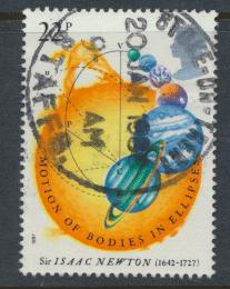 Great Britain SG 1352 -  Used - Isaac Newton