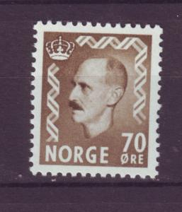 J18331 JLstamps 1955-7 norway hv of set mnh #350 haakon