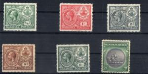 BAHAMAS -1920 SG NO 106/110,114 FINE USED / UNUSED CV 100 GBP +