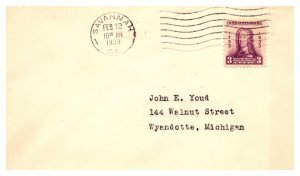 United States, Georgia, First Day Cover