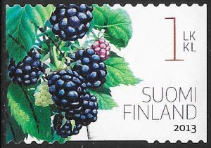 Finland 1426a Used - Garden Berries - Blackberry (Rubus fruticosus)