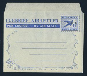 SOUTH WEST AFRICA South Africa Aerogramme Overprinted S W A MINT