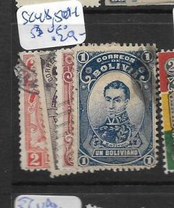 BOLIVIA  (P1707B)   SC   48, 50-1, 53   VFU