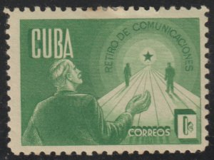 1943 Cuba Stamps Sc 381 Retirement Security NEW