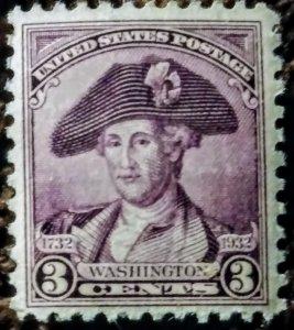 USA 708 MNH OG XF  - Really nice stamp!