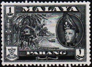 Malaya(Pahang). 1957 1c S.G.75 Unmounted Mint