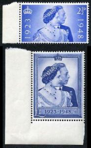 1948 Silver Wedding Set of 2 U/M