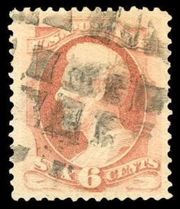 momen: US Stamps #186 Used PSE Graded VF/XF-85