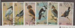 Belize Scott #500a-500f Stamp - Used Set
