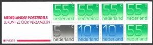 NETHERLANDS 1976-86 Complete 3g Booklet Sc 536g MNH