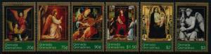 Grenada Grenadines 2000-5 MNH Art, Christmas, Paintings