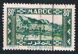 French Morocco 163A Used Valley of Dra (BP1374)