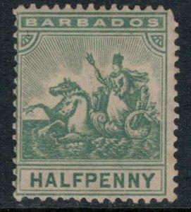 Barbados #92*  CV $27.50