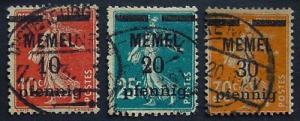 Memel, Scott 19-21, Used