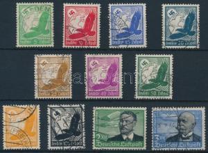 Germany stamp Airmail stamp set Used 1934 Deutsches Reich Mi 529-539 x WS232019
