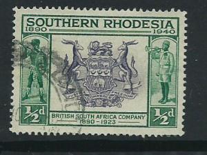 Southern Rhodesia SG 53  VFU