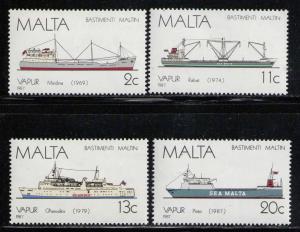 MALTA 1987 MNH SC.703/706 Ships