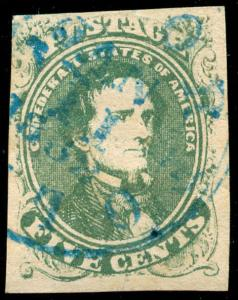 momen: CSA Stamps #1 Used VF/XF