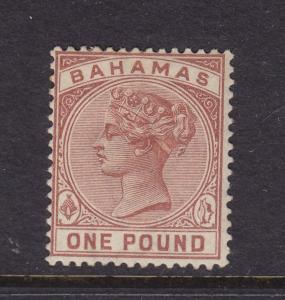 Bahamas Scott # 32 F-VF OG previously hinged nice color ! scv $ 350 ! see pic !