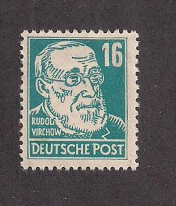 GERMANY - DDR SC# 127 F-VF OG 1953