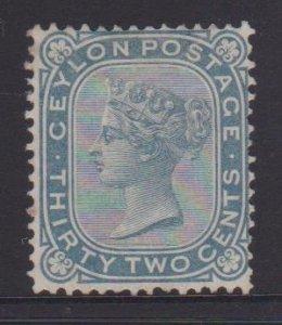 Ceylon Sc#69 MH