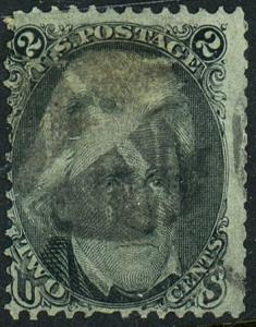 U.S. #94 Used Fancy Cancel