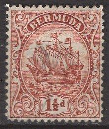 Bermuda; 1934: Sc. # 84: */MH Single Stamp