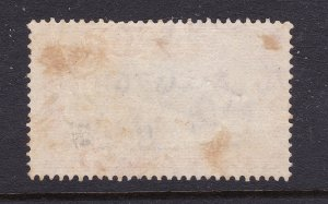Gibralter a KGVI used 5/-