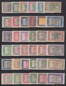 Madagascar 1908-1928 SC 79-114 MLH Set
