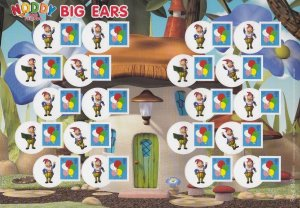 LS63 GB 2009 Noddy and Friends - Big Ears Smiler sheet UNMOUNTED MINT