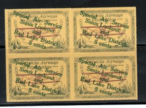 Canada #CL25b Extra Fine Never Hinged Block