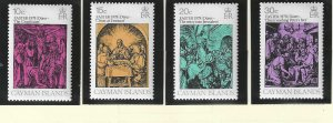 Cayman Islands Stamps Scott #396 To 399, Mint Never Hinged