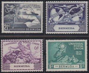 Bermuda 138-141 MNH (1949)