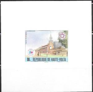 Upper Volta US Bi-Centennial proof card #404