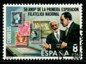 SPAIN SG2622 1980 50th ANNIV OF NATIONAL STAMP EXHIBITION FINE USED