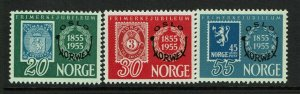 Norway SC# 340-342, Mint Never Hinged - S9366