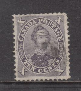 Canada #17a Extra Fine Used With Large Margins