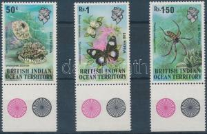 British Indian Ocean Territory stamp set MNH 1973 Mi 54-56 WS143727