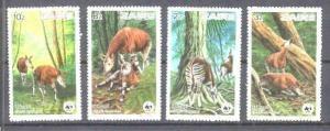 Zaire Mi.875-78 MNH WWF-84