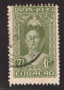 Netherlands Antilles  Curacao  #76  used  1923  Wilhelmina  7 1/2c