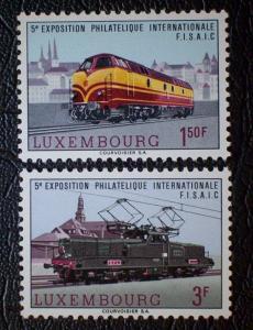 Luxembourg Scott #442-443 mnh