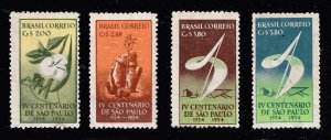 BRAZIL STAMP 1953 The 400th Anniversary of Sao Paulo, 1954 MNH STAMPS LOT