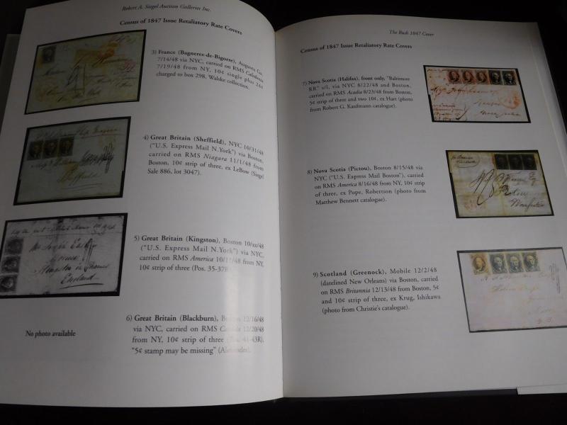 Robert Siegel 2006 The Rush 1847 Cover w Strip 6 US#2 Auction Catalog  HC w DJ