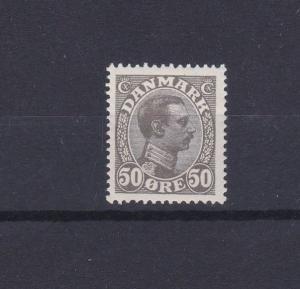 DENMARK   1913 - 28  S G  160  50o  GREY BLACK  M N H