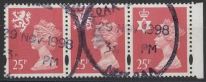 0729) Great Britain - Regionals. 1996. Used. SG s84,w73,ni72 from DX18
