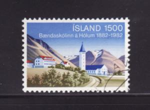 Iceland 561 Set U School of Agriculture in Holar (A)