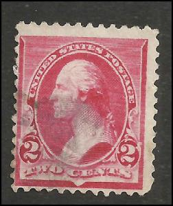 # 220 Used Carmine George Washington